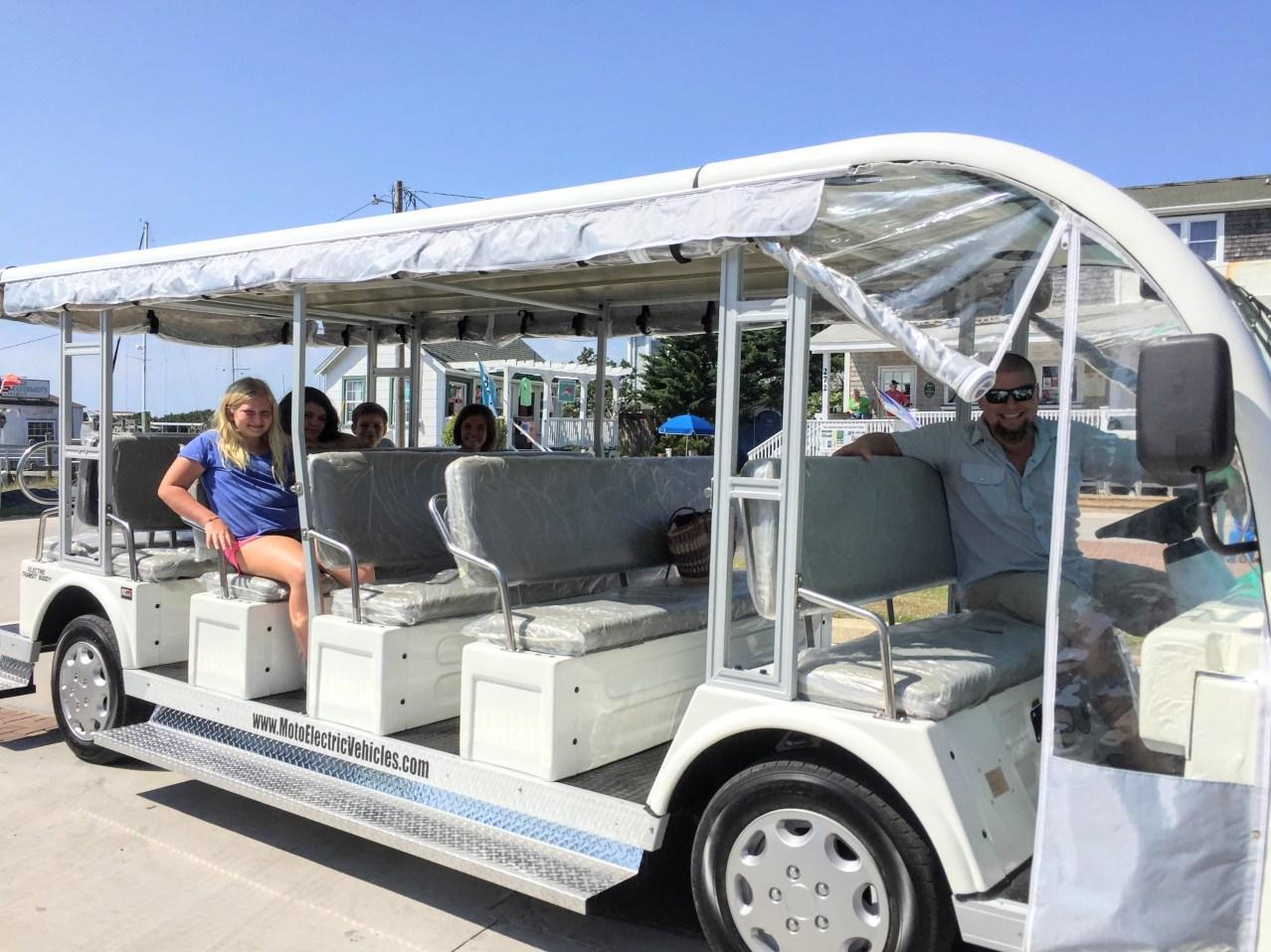 Ocracoke Trams