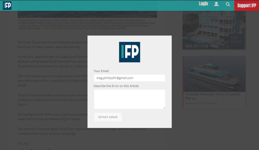 ifp2-reporterror