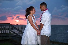 Outer Banks Wedding on the Beach
