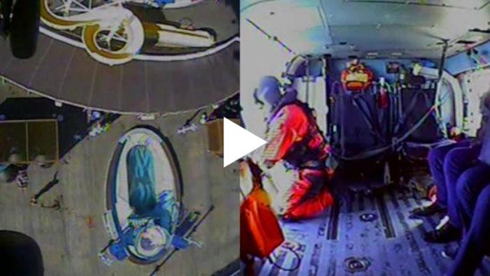 Coast Guard Medevac