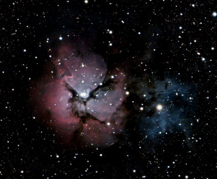 Messier 20, the Trifid Nebula