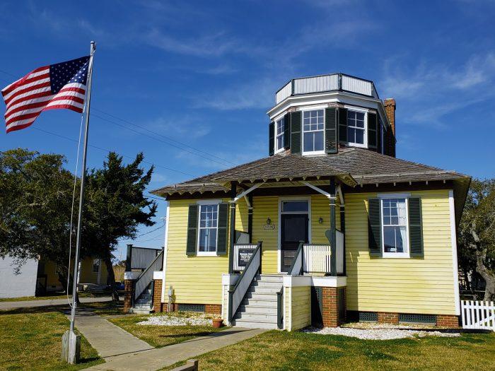 U.S. Weather Bureau Station in Hatteras