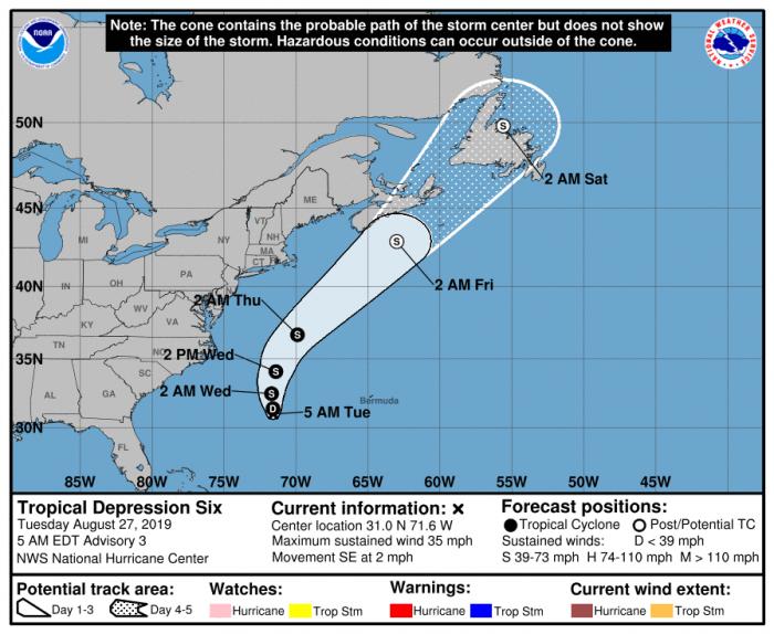 Tropical Storm Dorian gains steam, heads for Caribbean