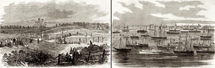 4.5-Burnside-reviews-troops_Fleet-at-Annapolis